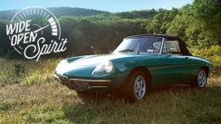 The Alfa Romeo Spider Is A Wide Open Spirit