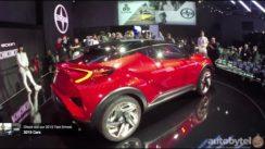 Scion C-HR Concept Car Debut LA Auto Show 2015