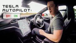 Testing Tesla's Autopilot System At 70mph