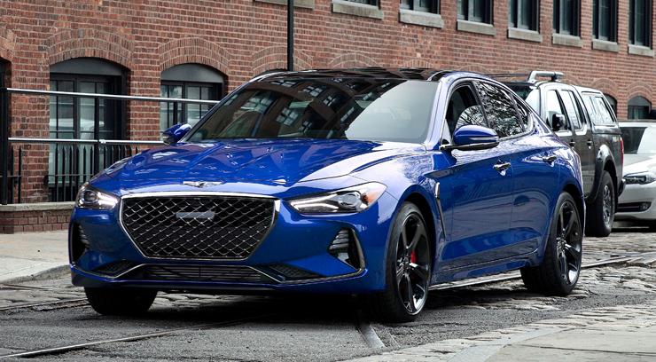 2020 Genesis G70 Car Review