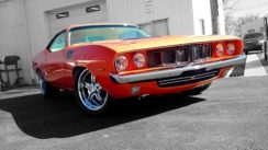 1971 Plymouth Cuda Supercharged
