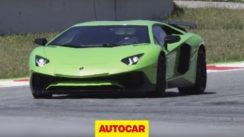 Lamborghini Aventador SV Driven