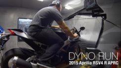 2015 Aprilia RSV4 R APRC Dyno Run