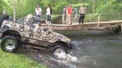 Extreme Geo Tracker Water Crossing
