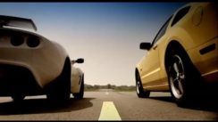 Lotus Exige vs Ford Mustang Track Test