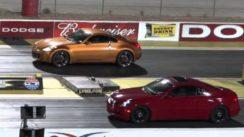 2005 Nissan 350z vs 2006 Infiniti g35 Drag Race
