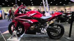 2016 Honda CBR500R at the AIMExpo 2015