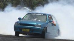 Modified Daihatsu Charade Burnouts