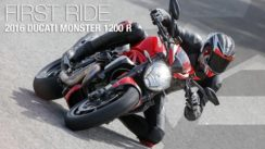 2016 Ducati Monster 1200 R First Ride Review