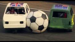 Reliant Robin Soccer Match