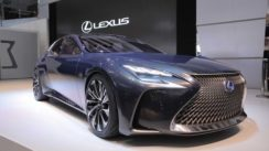 Lexus LF-FC Flagship Concept at the Tokyo Motor Show