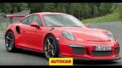 Porsche 911 GT3 RS on the Track