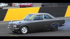 Datsun 1600 Coupe SR20 Turbo Drag Race