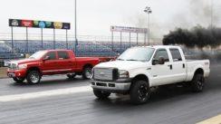 Quarter Mile Drag Race: Diesel Power Challenge