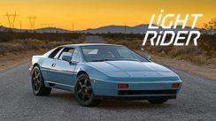This Lotus Esprit Is A Light Rider Reborn