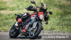 2016 Victory Empulse TT First Ride