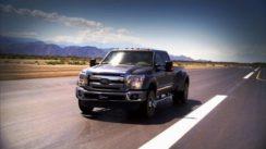 Pickup Truck Drag Race