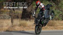 2016 Kawasaki Z800 ABS First Ride