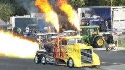 60,000 Horsepower Jet Truck Drag Race