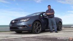 2016 Buick Cascada Convertible Test Drive Review