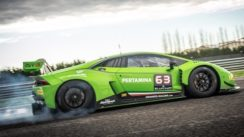 Lamborghini Huracan GT3 Driven Flat Out on Track