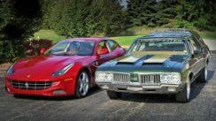 1970 Oldsmobile Cruiser vs 2012 Ferrari FF Family Cruisers