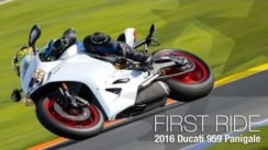 2016 Ducati 959 Panigale First Ride