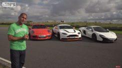 Aston GT12 vs Porsche 991 GT3RS vs McLaren 650S Comparison