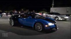 Bugatti Veyron vs Nissan R35 GTR Quarter Mile Drag Race