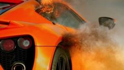 Zenvo ST1 Fire On The Track!