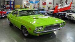 1973 Dodge Challenger 340 V8 Test Drive