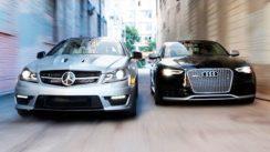 2014 Audi RS5 vs 2014 Mercedes C63 507 Coupe
