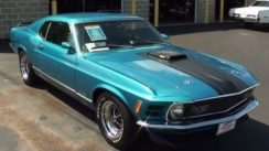 1970 Ford Mustang Mach 1 Cleveland V8 Fastback