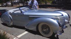 1937 Delahaye 145 Franay Cabriolet: Grand Prix Racer Turned Roadster
