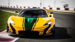McLaren P1 GTR Driven Flat Out On Track