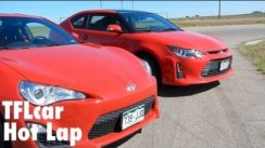 2014 Scion FR-S vs Scion tC Hot Lap