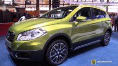 2015 Suzuki SX4 S-Cross All Grip at the 2014 Paris Auto Show