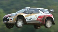 Driving Citroën's WRC Car