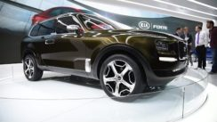 Kia Telluride Concept at the 2016 Detroit Auto Show