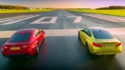 BMW M4 Coupe vs Lexus RC F