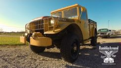 Military Vehicle 1964 Dodge M37 Power Wagon 4×4