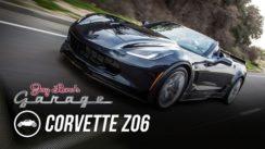 Jay Leno and a C6 Corvette Z06