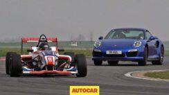 Can a Porsche 911 Turbo S outrun a Formula 4 Car?