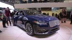 2017 Lincoln Continental at the Detroit Auto Show