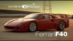 Ferrari F40 Classic Supercar Review