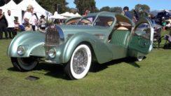 1935 Bugatti Aerolithe Coupe Wows at Car Show