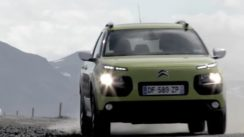 Out of this World Citroen C4 Cactus in Iceland