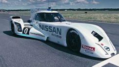 Driving Nissan's 750HP Hybrid Le Mans Dart-Shaped Racer
