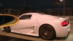 Rare Rossion Q1R Carbon vs Lambo on the Street