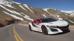 Racing the 2016 Acura NSX Up a Mountain